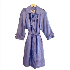 VINTAGE - STERLING STALL TRENCH COAT